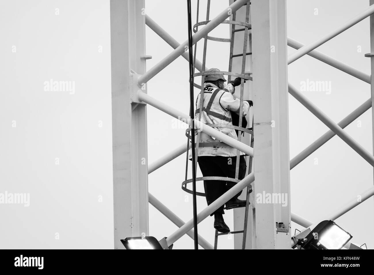 Construction in progress, Birmingham, U.k. - Stock Image