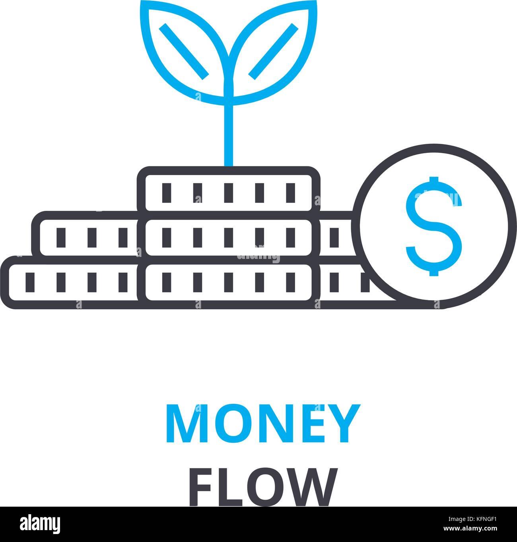 Money flow concept outline icon linear sign thin line pictogram money flow concept outline icon linear sign thin line pictogram logo flat illustration vector ccuart Images