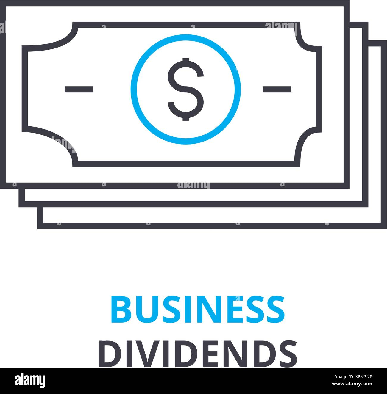 Business dividends concept outline icon linear sign thin line business dividends concept outline icon linear sign thin line pictogram logo flat vector illustration ccuart Images