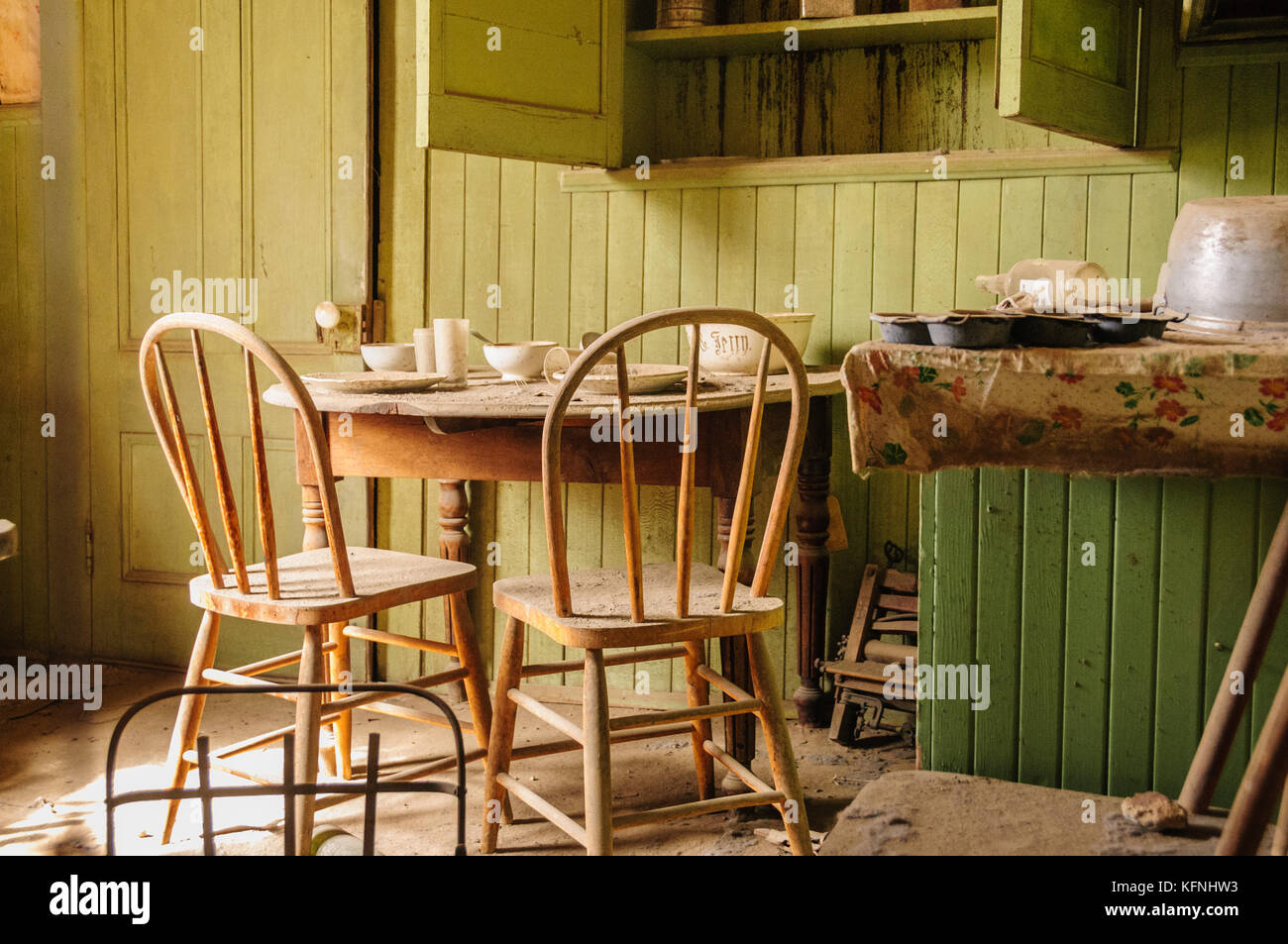 Admirable Interior Of An Old House Including Two Chairs And A Kitchen Download Free Architecture Designs Scobabritishbridgeorg