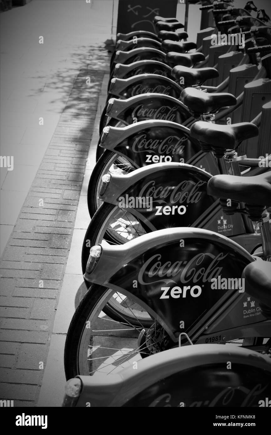 Dublin Bikes - Stock Image