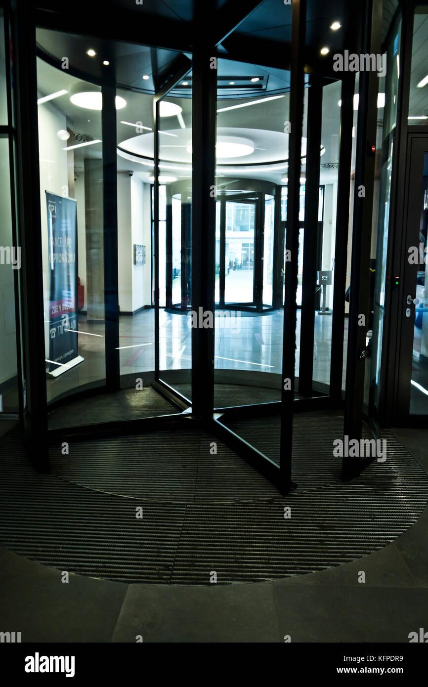 Revolving Doors   Stock Image