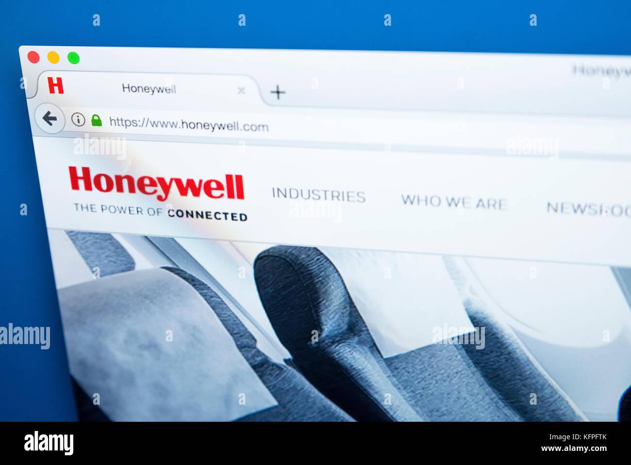 Honeywell Logo Stock Photos & Honeywell Logo Stock Images