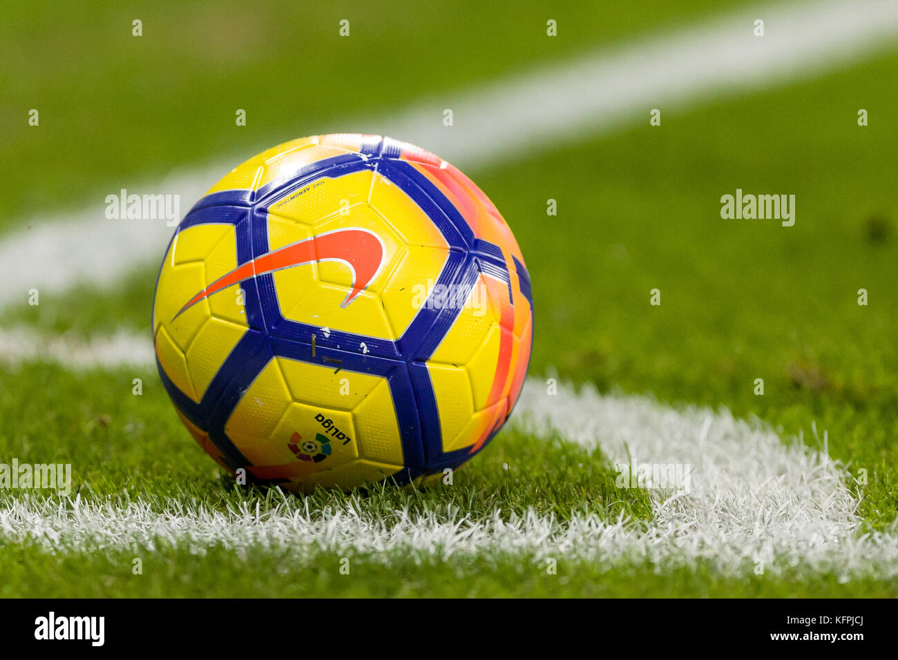 Barcelona, Spain. 30th Oct, 2017. Winter's ball of La Liga during the match between RCD Espanyol against Real - Stock Image