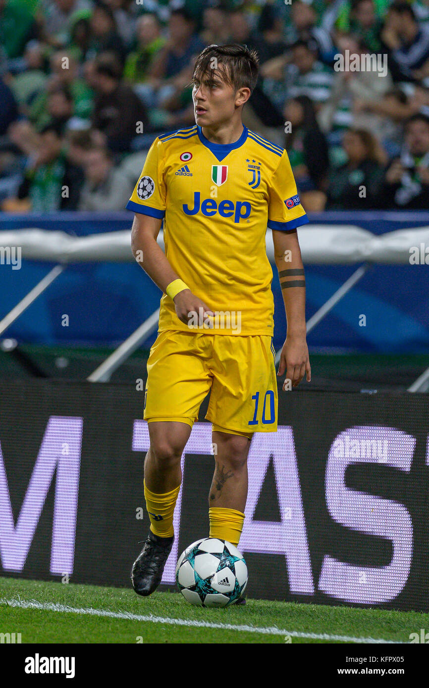 detailed look 39d77 ba634 Lisbon, Portugal. 31st Oct, 2017. Juventus's forward from ...