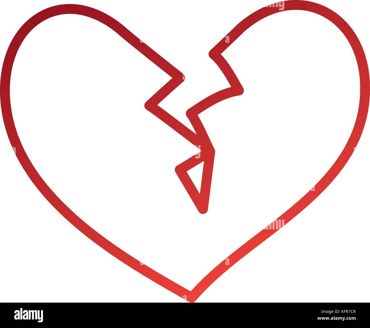 Broken heart character symbol images symbol and sign ideas broken heart stock vector images alamy broken heart icon divorce end of love symbol stock vector buycottarizona Choice Image