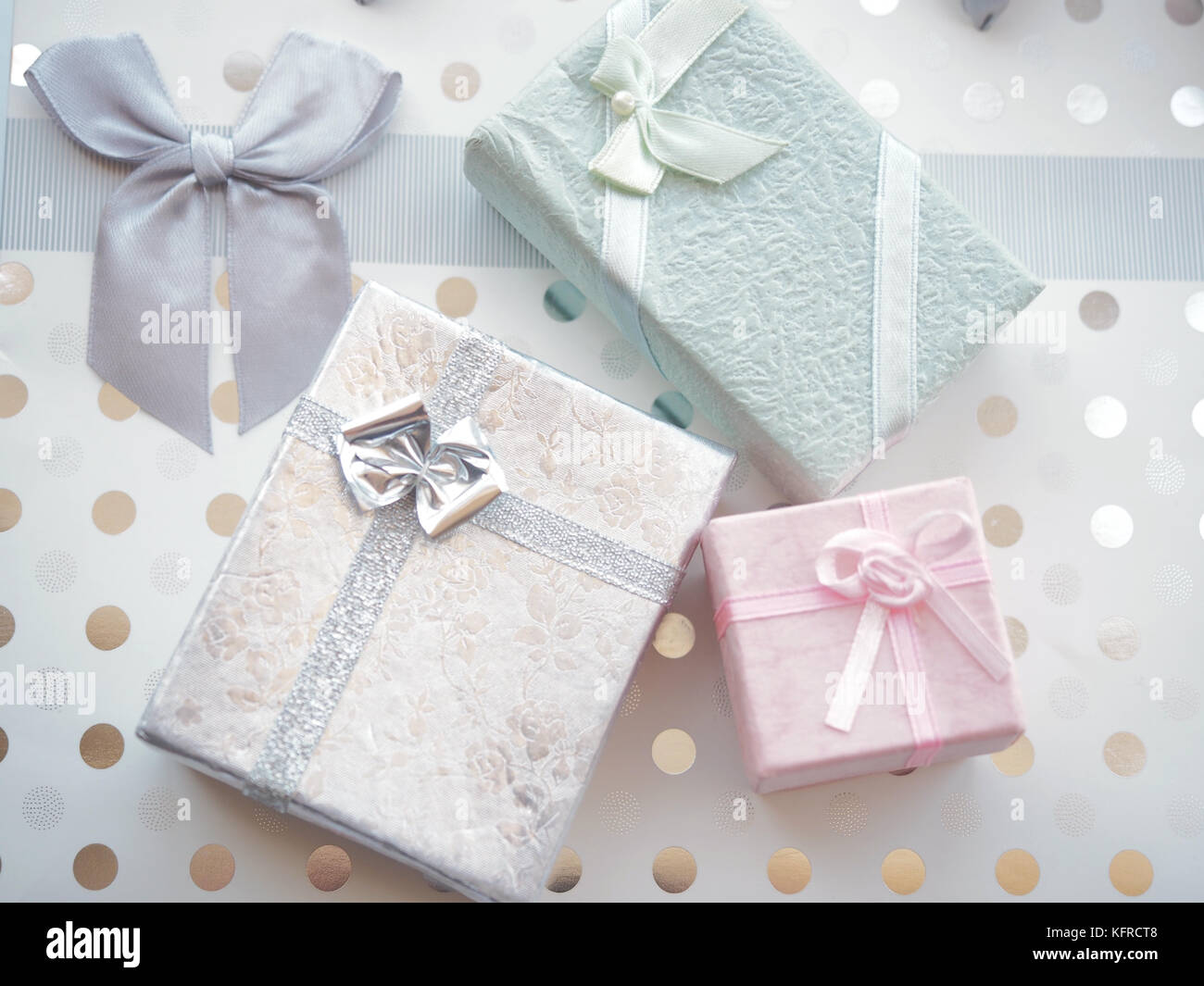 Wrapped Wedding Gifts Stock Photos & Wrapped Wedding Gifts Stock ...