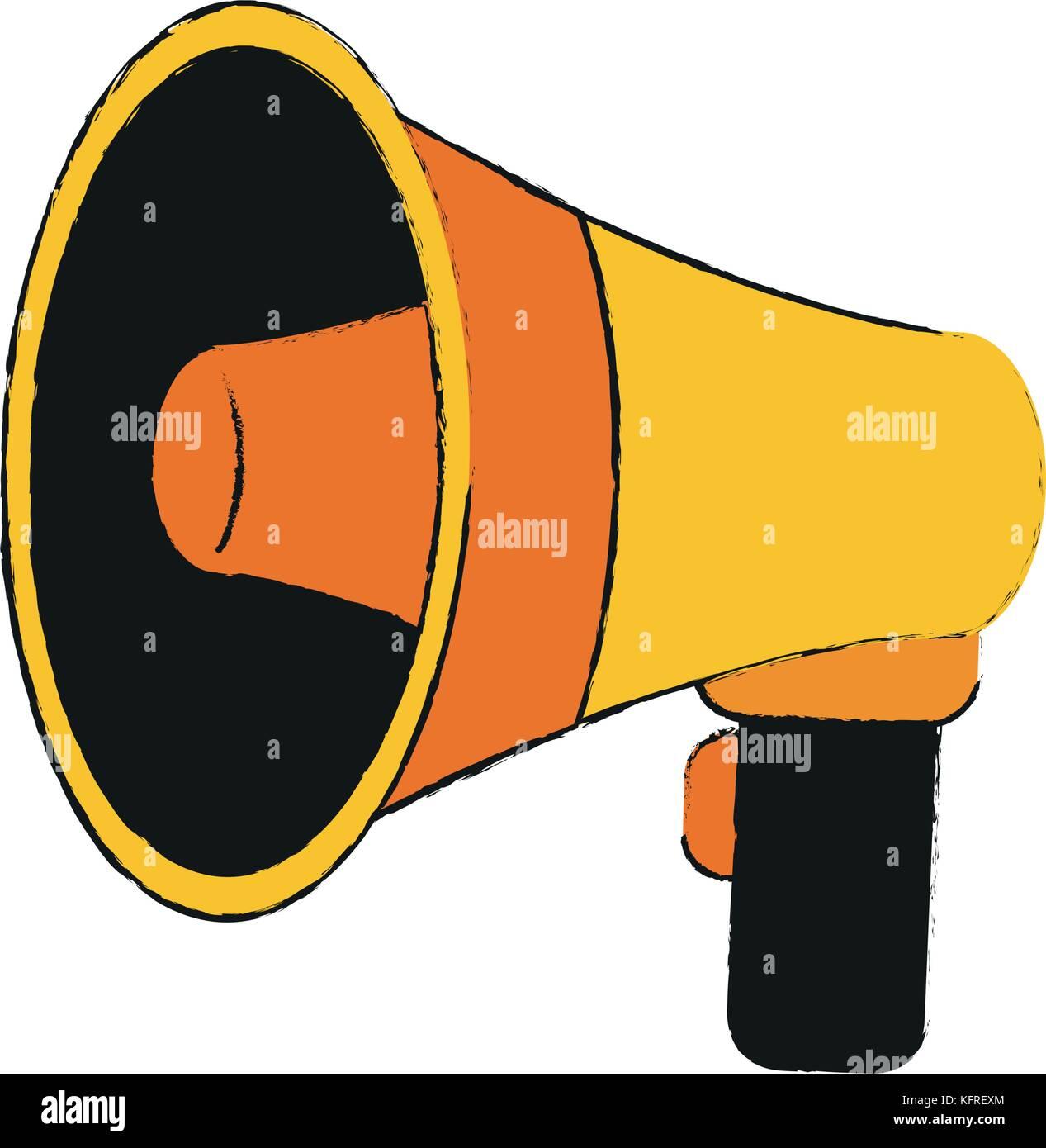 Bullhorn megaphone sketch stock photos bullhorn megaphone sketch bullhorn or megaphone icon image stock image publicscrutiny Gallery