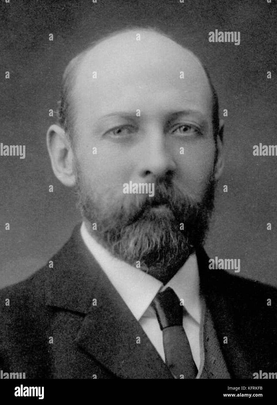Sir Joseph Cook, Australian politician and Prime Minister of Australia - Stock Image