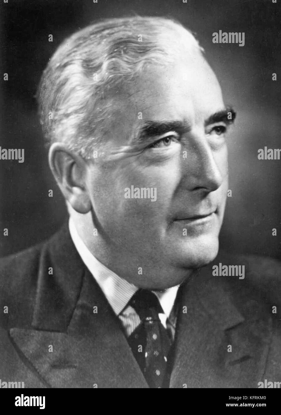 Sir Robert Gordon Menzies, (20 December 1894 – 15 May 1978), Prime Minister of Australia from 1939 to 1941 and again - Stock Image