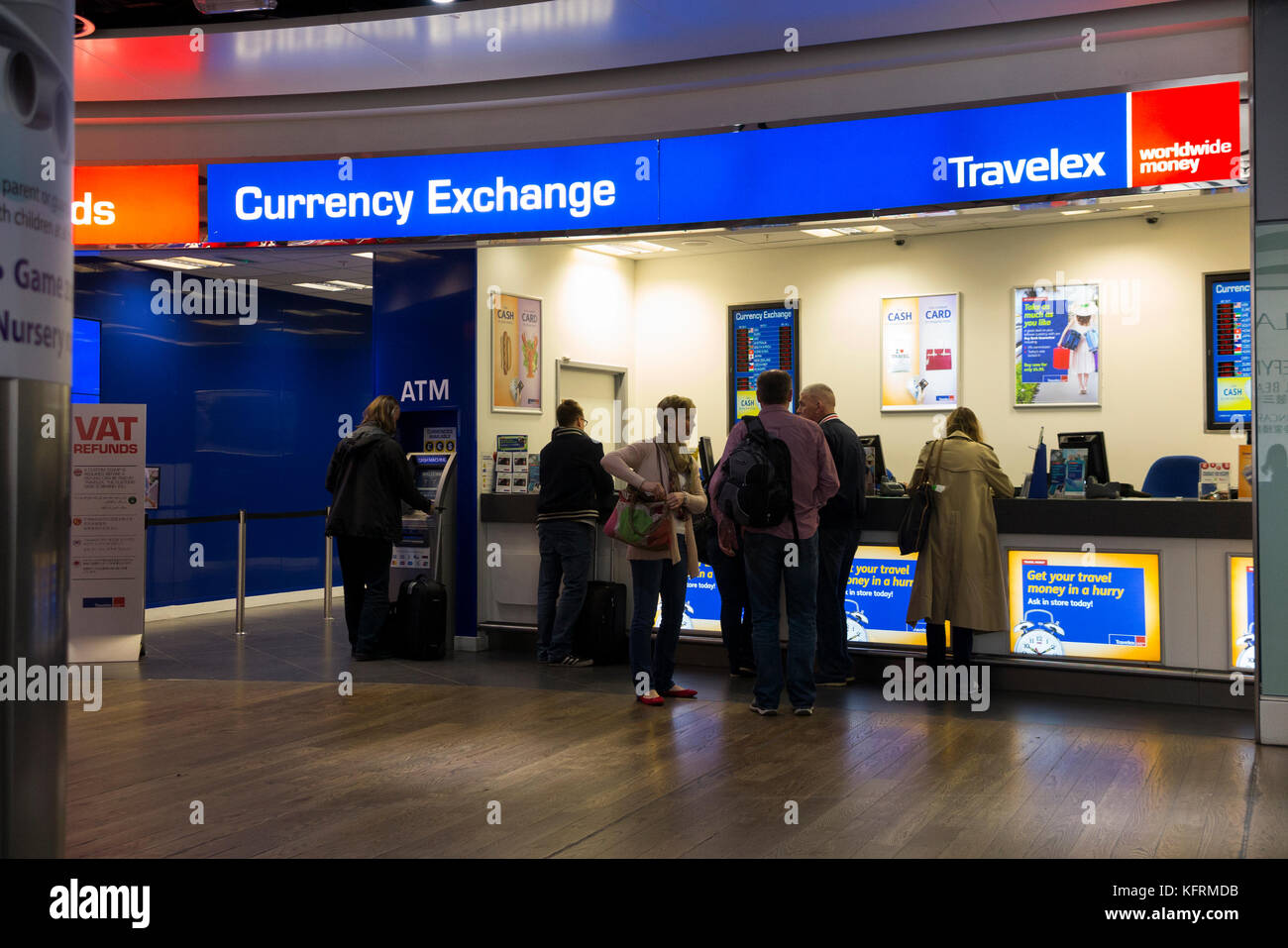 Currency Exchange Airport Stock Photos Amp Currency Exchange