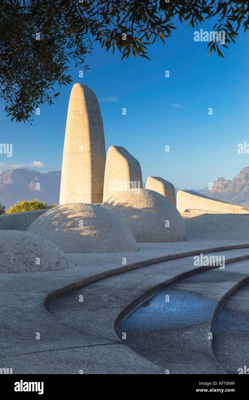 Afrikaans Language Monument, Paarl, Western Cape, South Africa - Stock Image