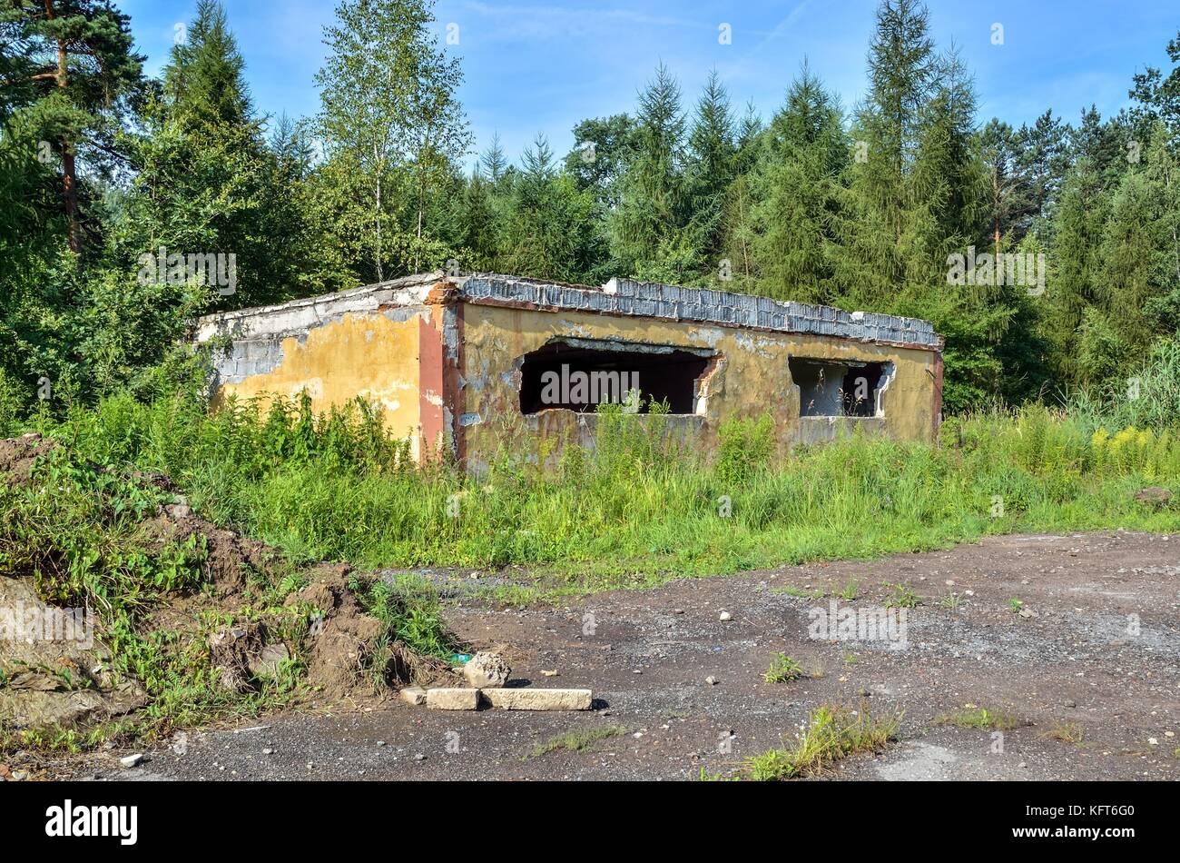 Abandoned military unit