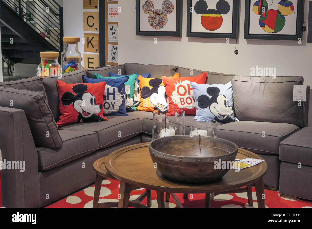 Ethan Allen Interiors Furniture Store, NYC, USA
