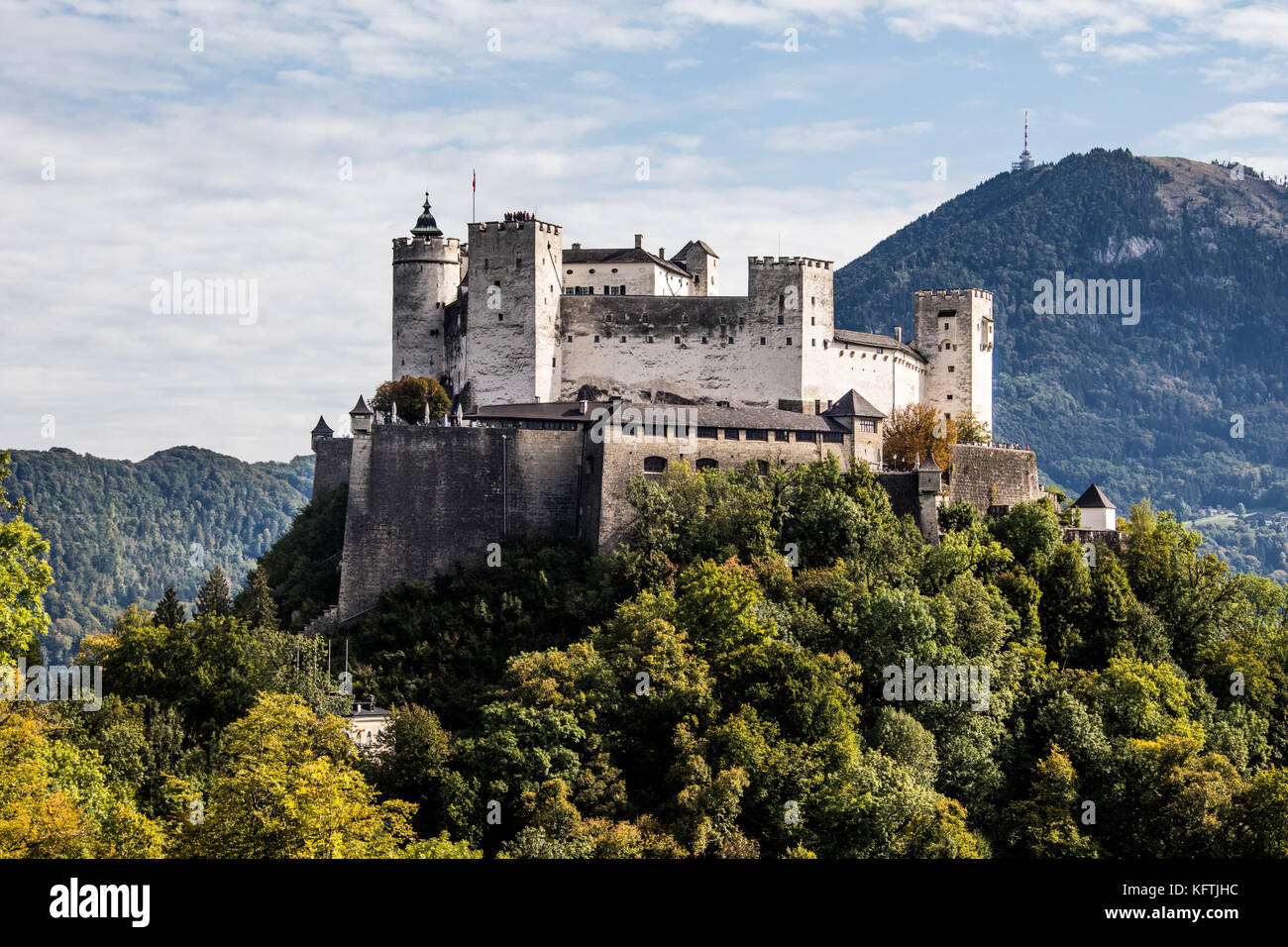Hohensalzburg Castle in Salzburg, Austria Stock Photo - Alamy