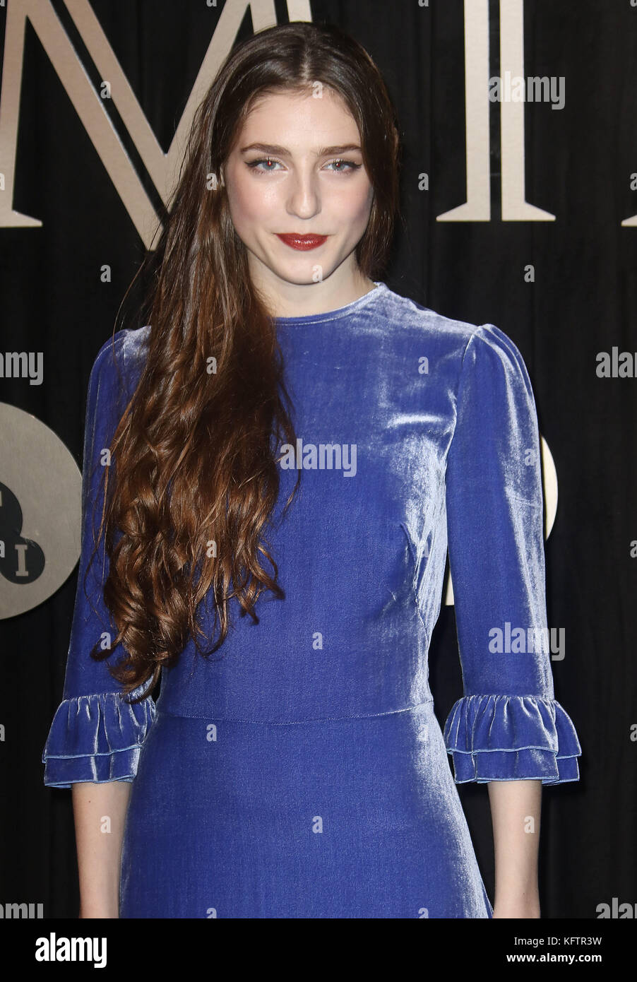 Oct 03, 2017 - Birdy attending 'BFI Luminous Fundraising Gala at The Guildhall in London, England, UK Stock Photo