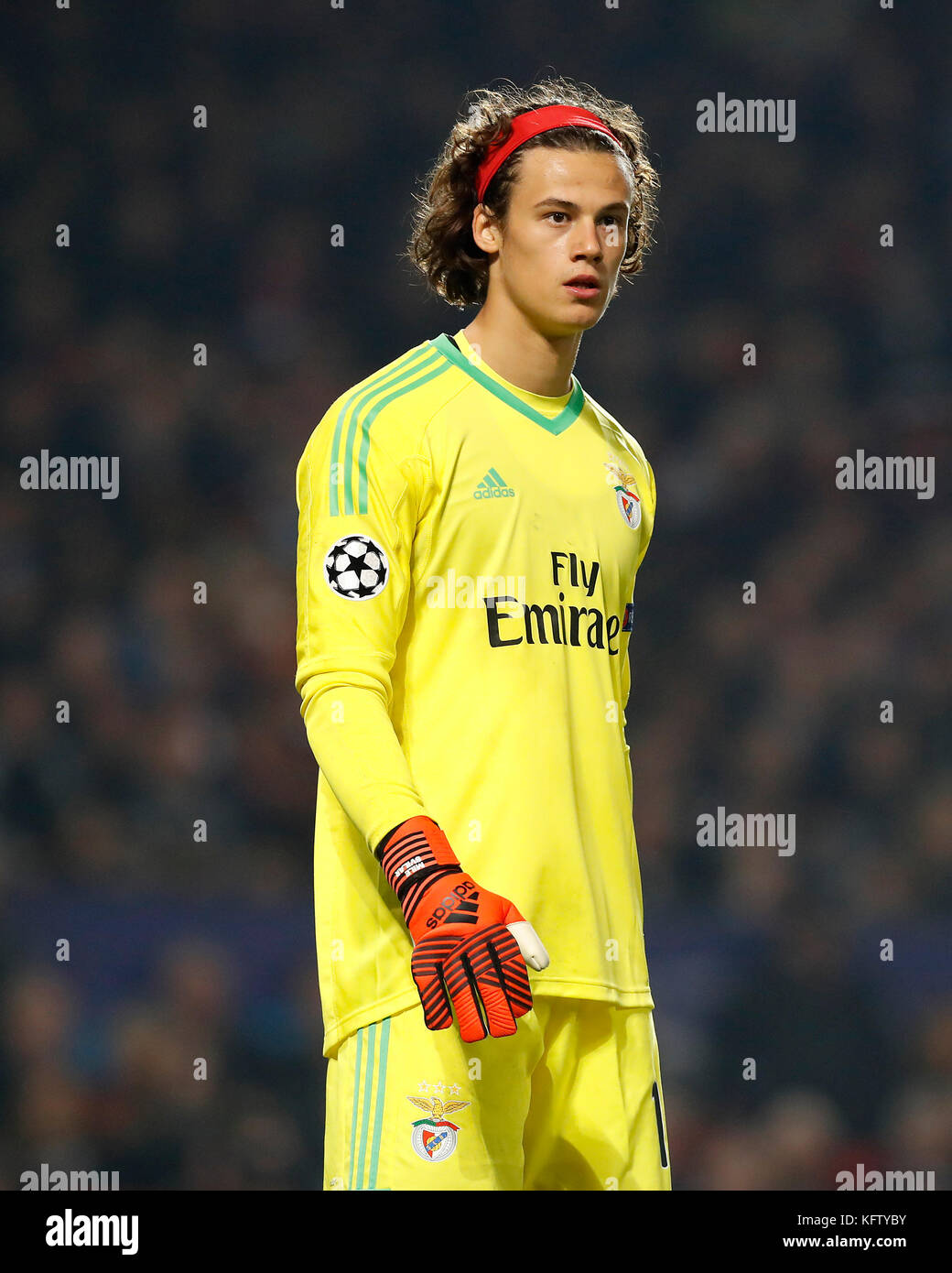 outlet store e52a6 029a5 Benfica's Goalkeeper Mile Svilar during the UEFA Champions ...