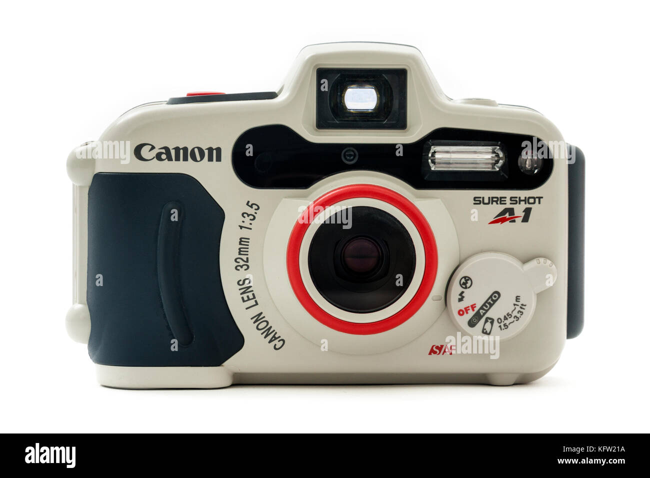 Canon SureShot A1 compact underwater autofocus 35mm film camera from 1994 Stock Photo
