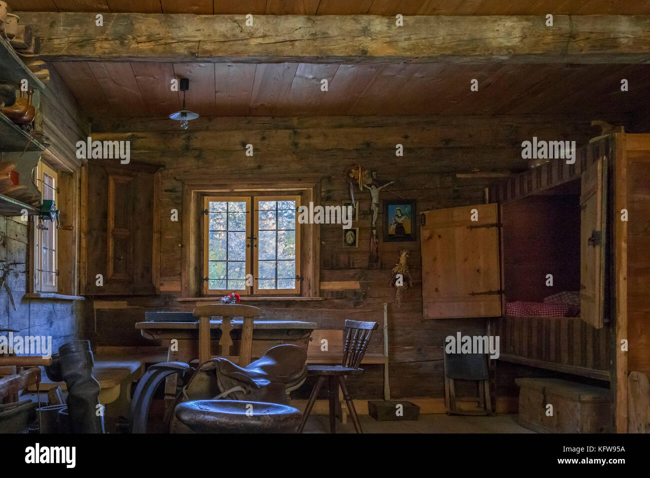 Saddlery And Cobbler In The Artisan House Handwerkerhaus In The Stock Photo Alamy