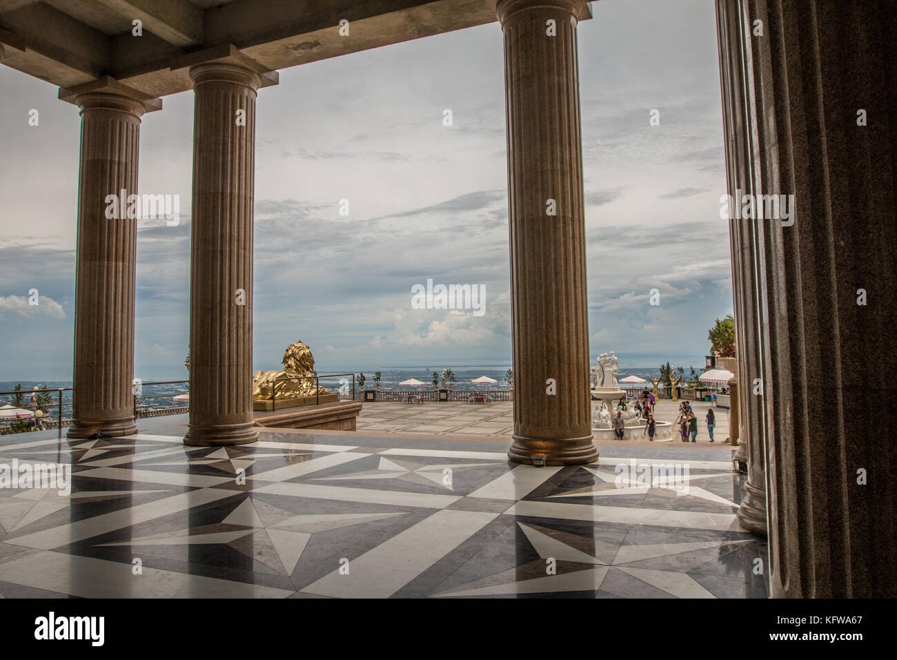 Temple of Leah Cebu Philippines - Stock Image