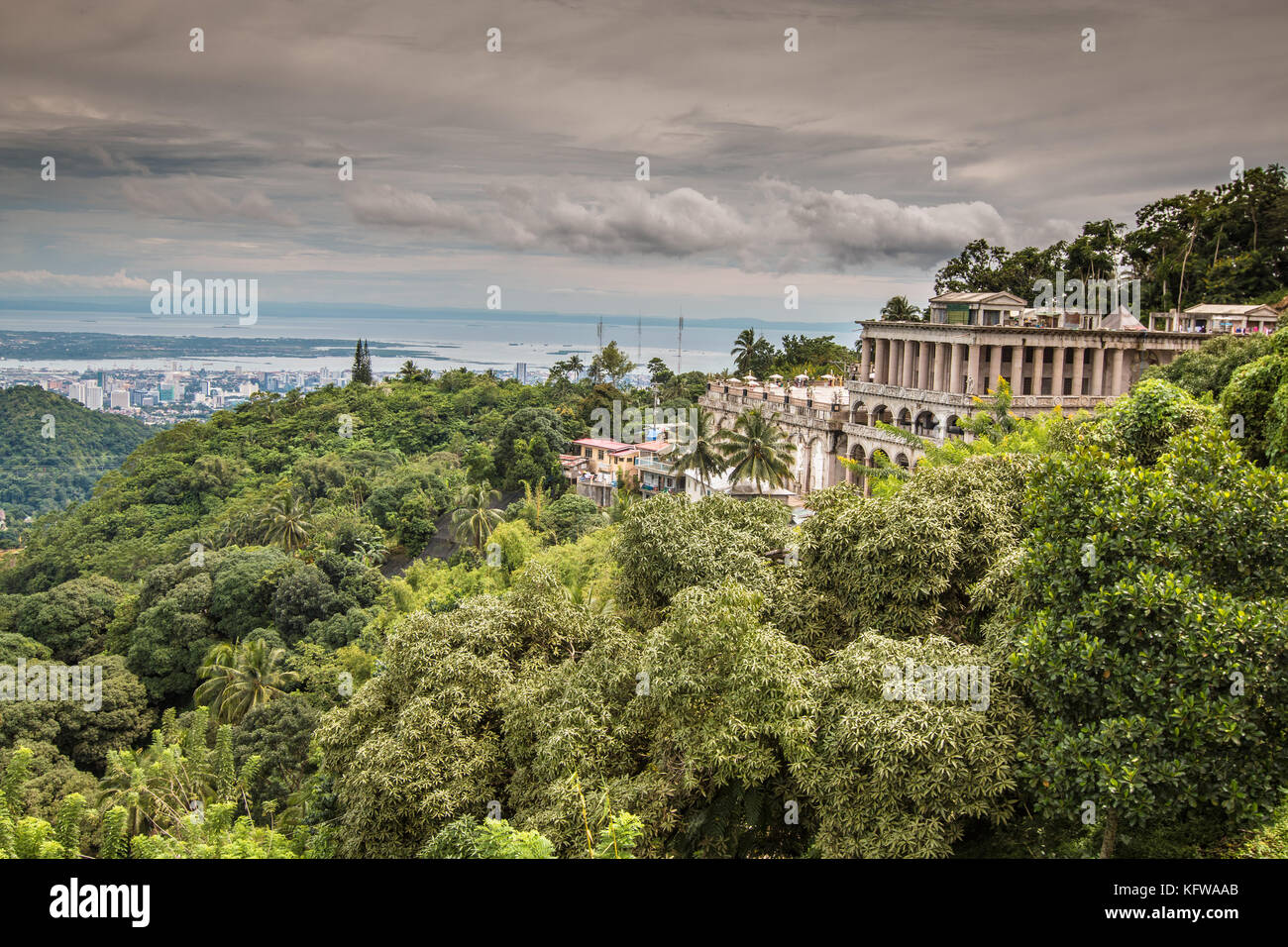 Temple of Leah in Cebu Philippines - Stock Image