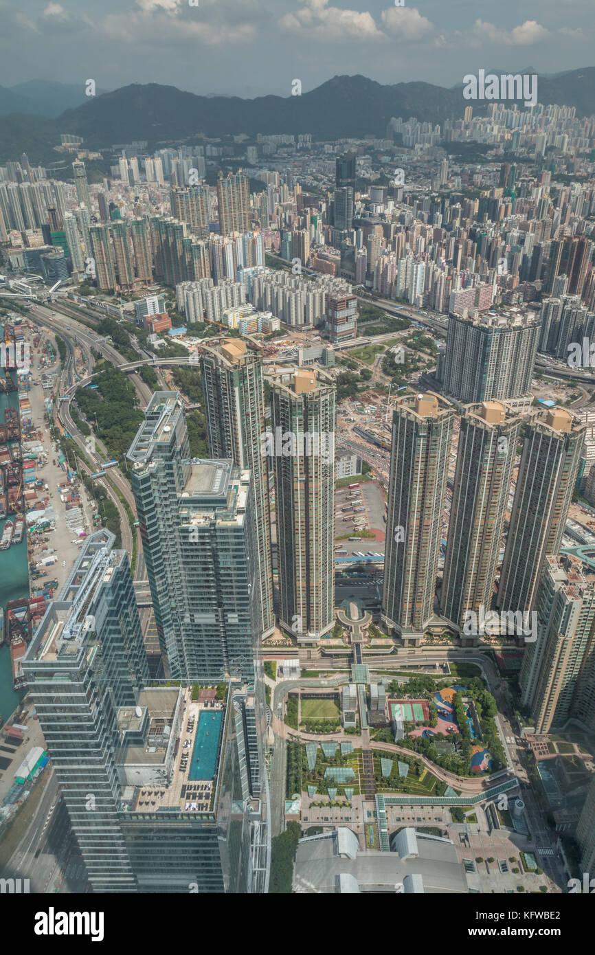 Buildings in HongKong - Stock Image