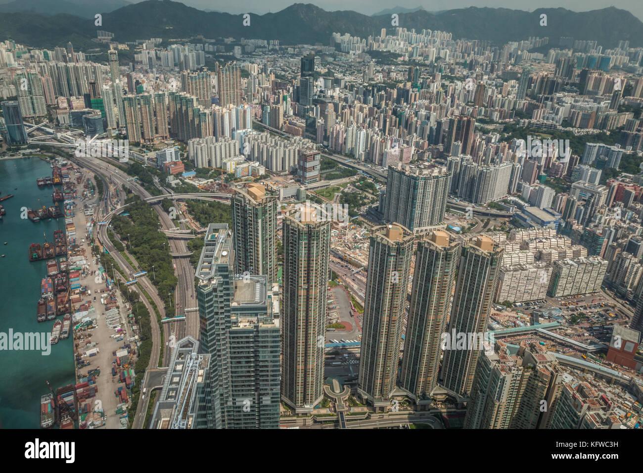 View of Hongkong - Stock Image