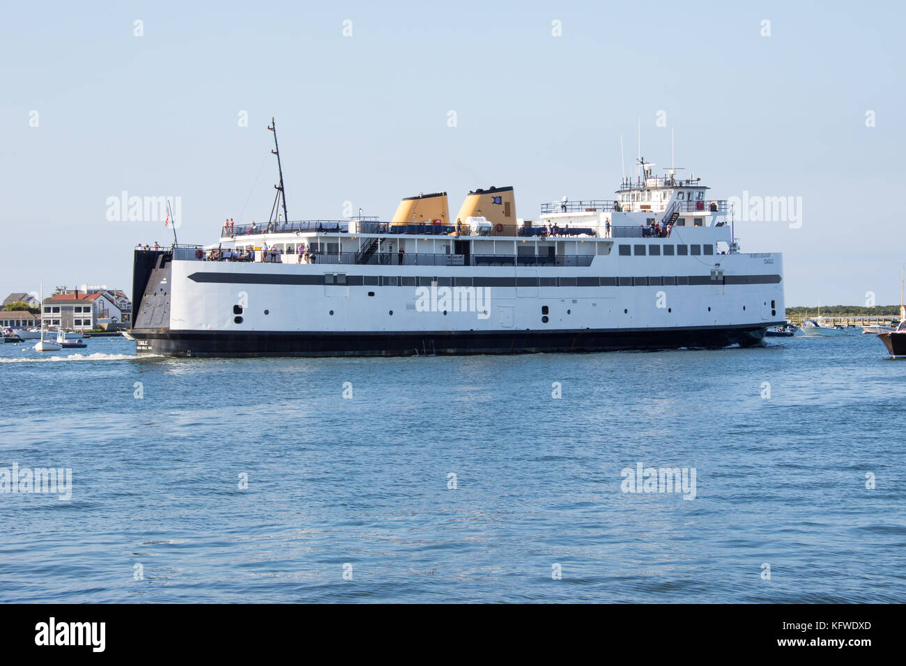 nantucket ferry stock photos & nantucket ferry stock images - alamy
