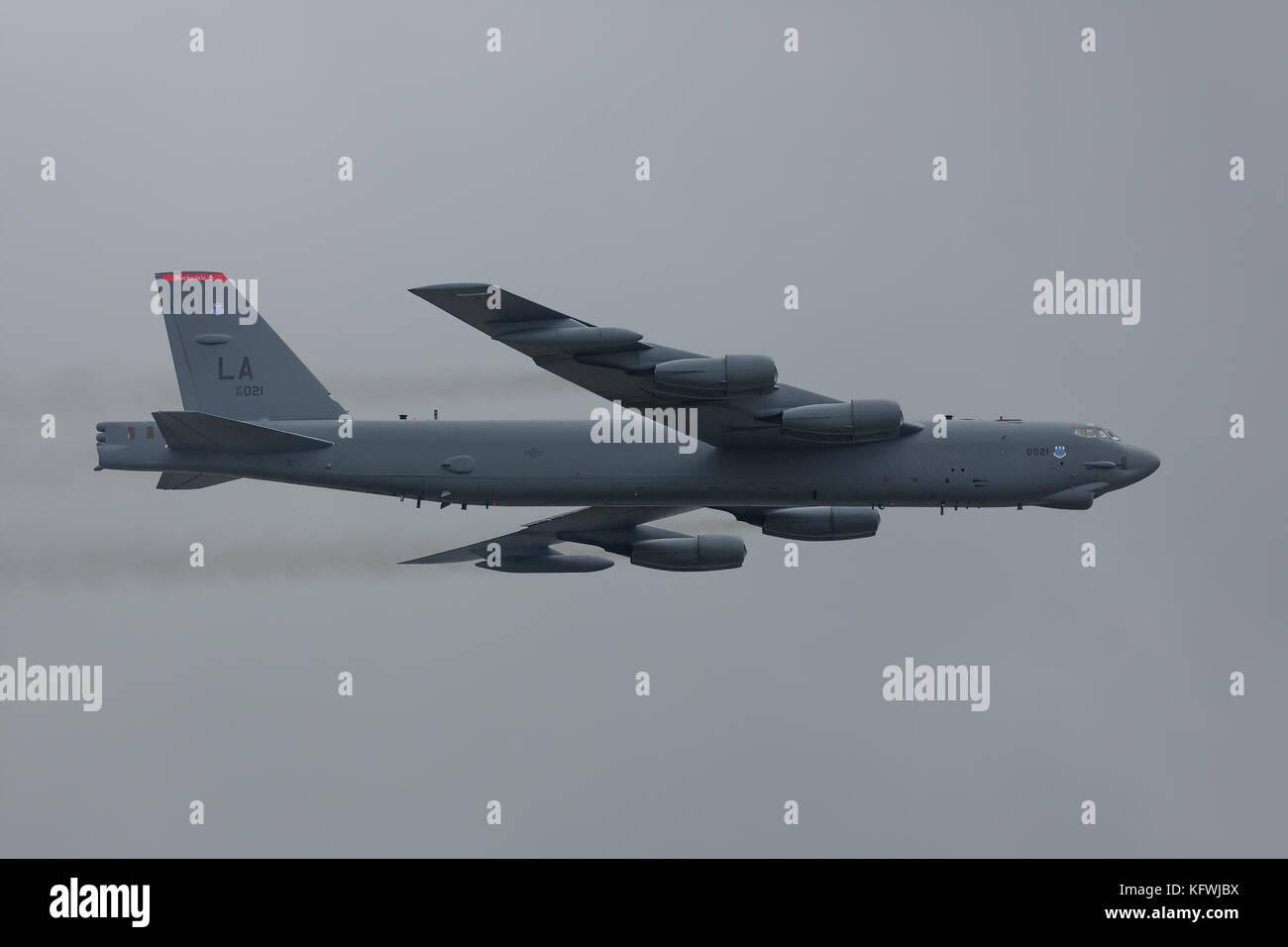 Boeing B-52 Stratofortress Stock Photo