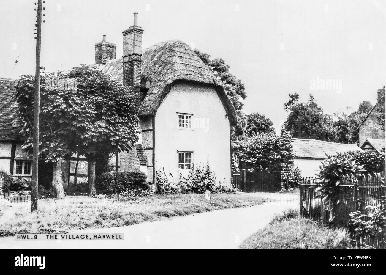 Harwell village , Near Didcot - Stock Image