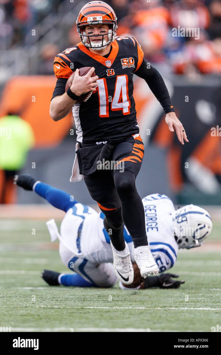 October 29th 2017 Cincinnati Bengals Quarterback Andy Dalton 14