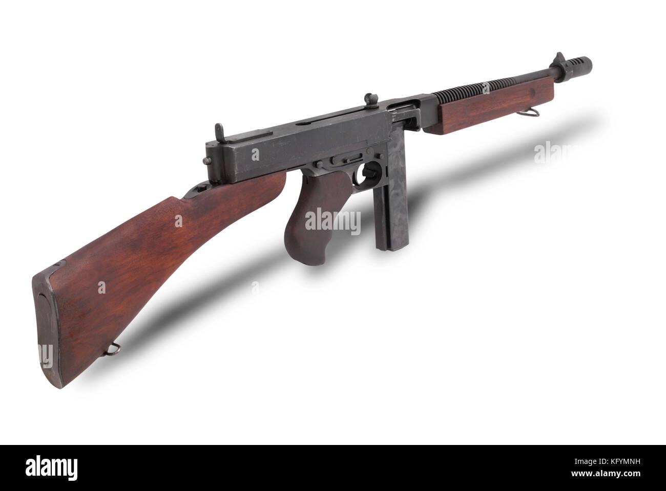 Thompson Machine Gun Stock Photos & Thompson Machine Gun