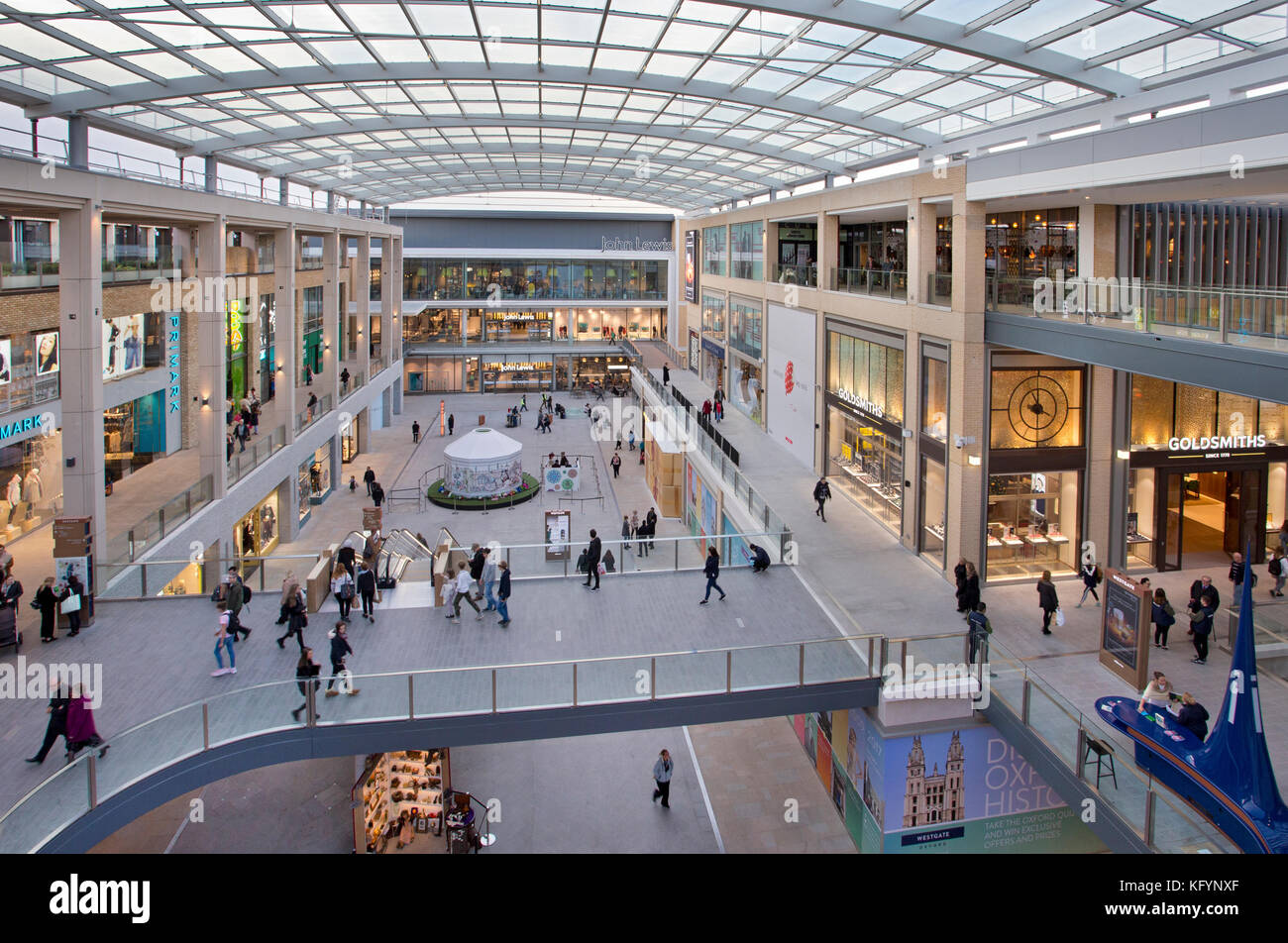 New Westgate Shopping Centre,Oxford,Oxon,England - Stock Image