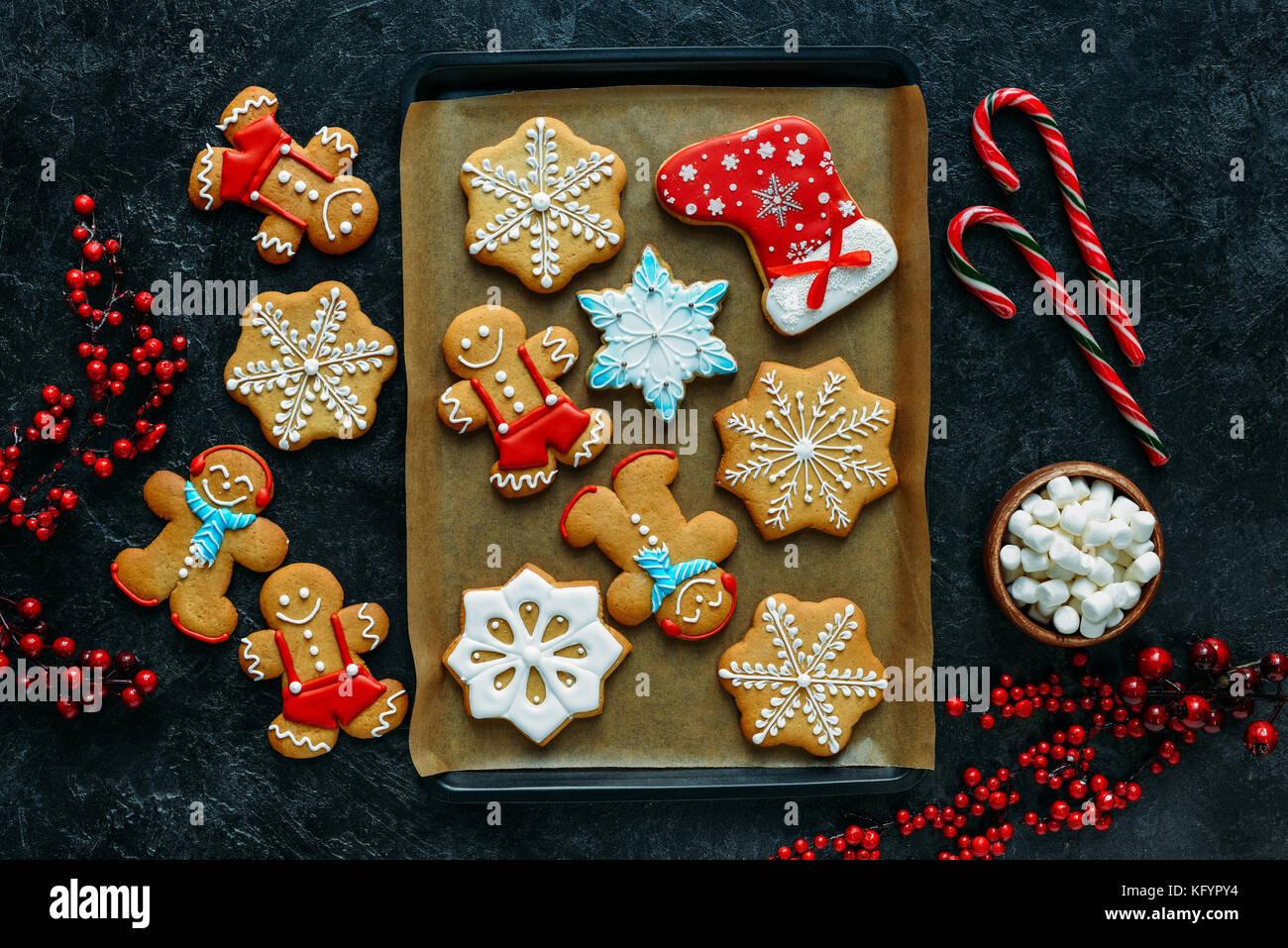 gingerbreads - Stock Image