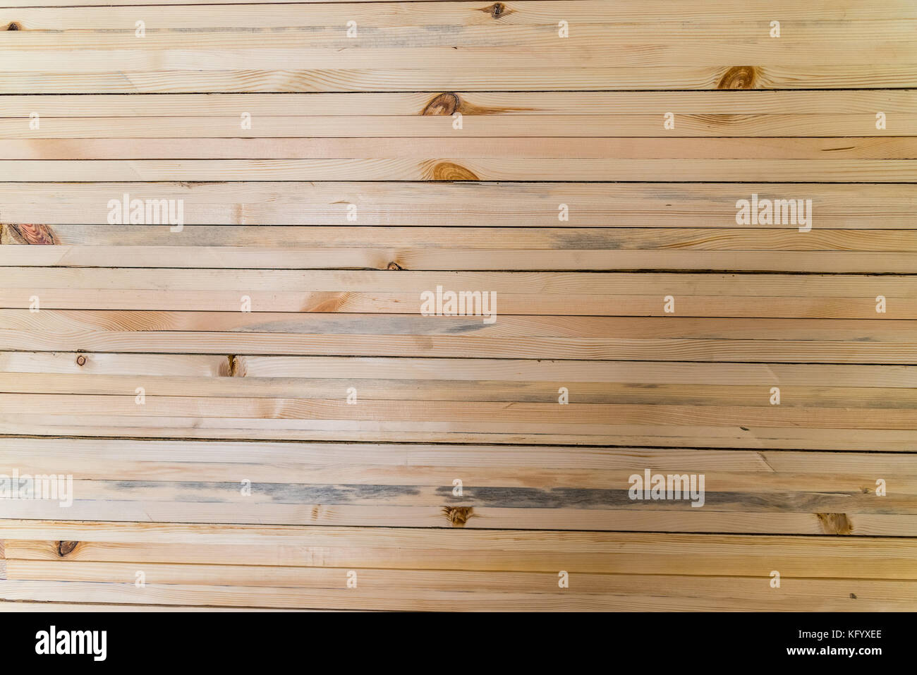 Wooden planks background - Stock Image