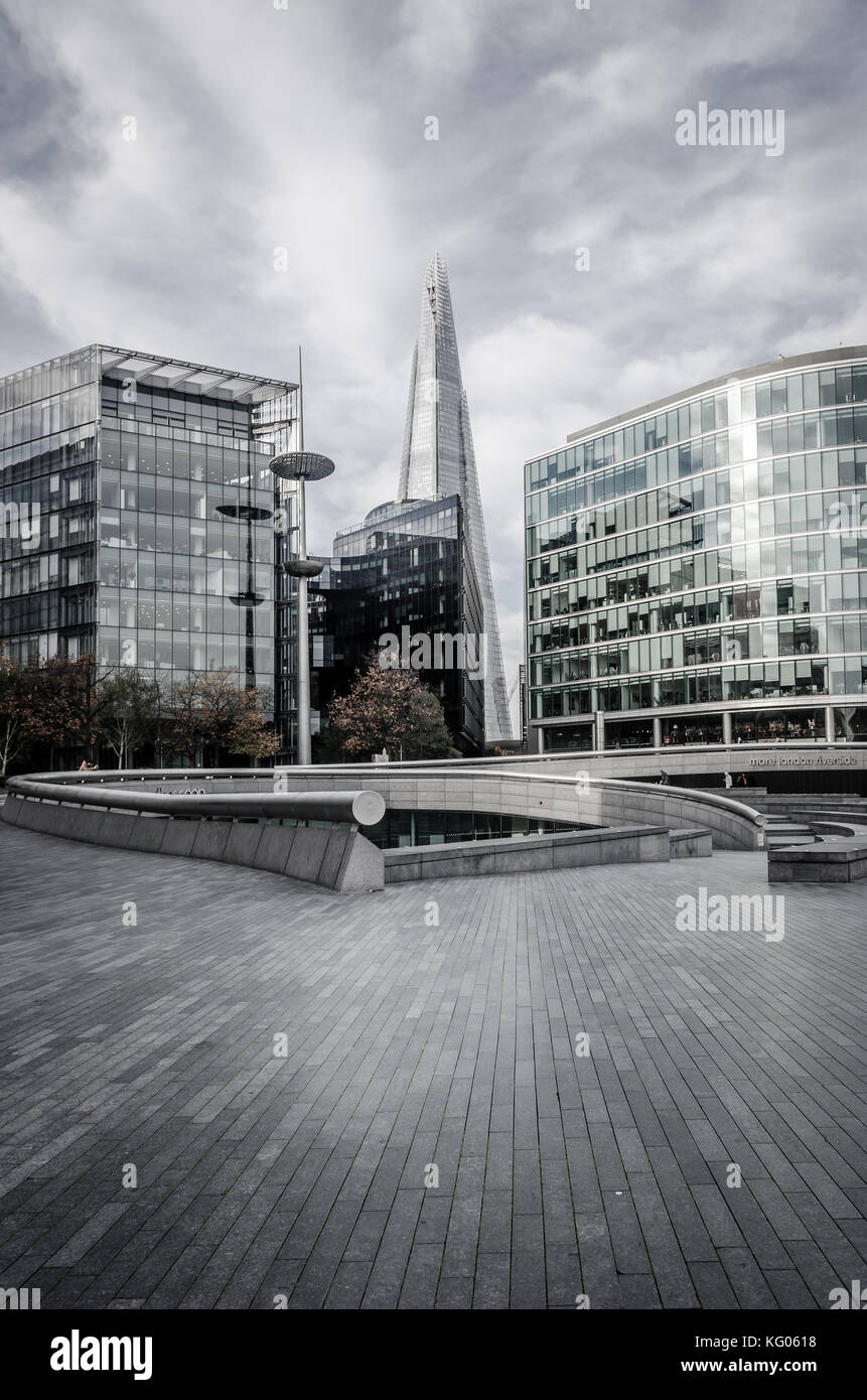Londen shard - Stock Image