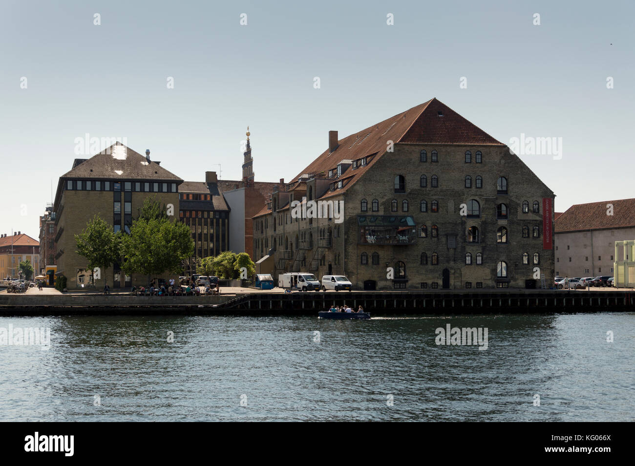 Danish Architecture Centre Copenaghen Denmark - Stock Image