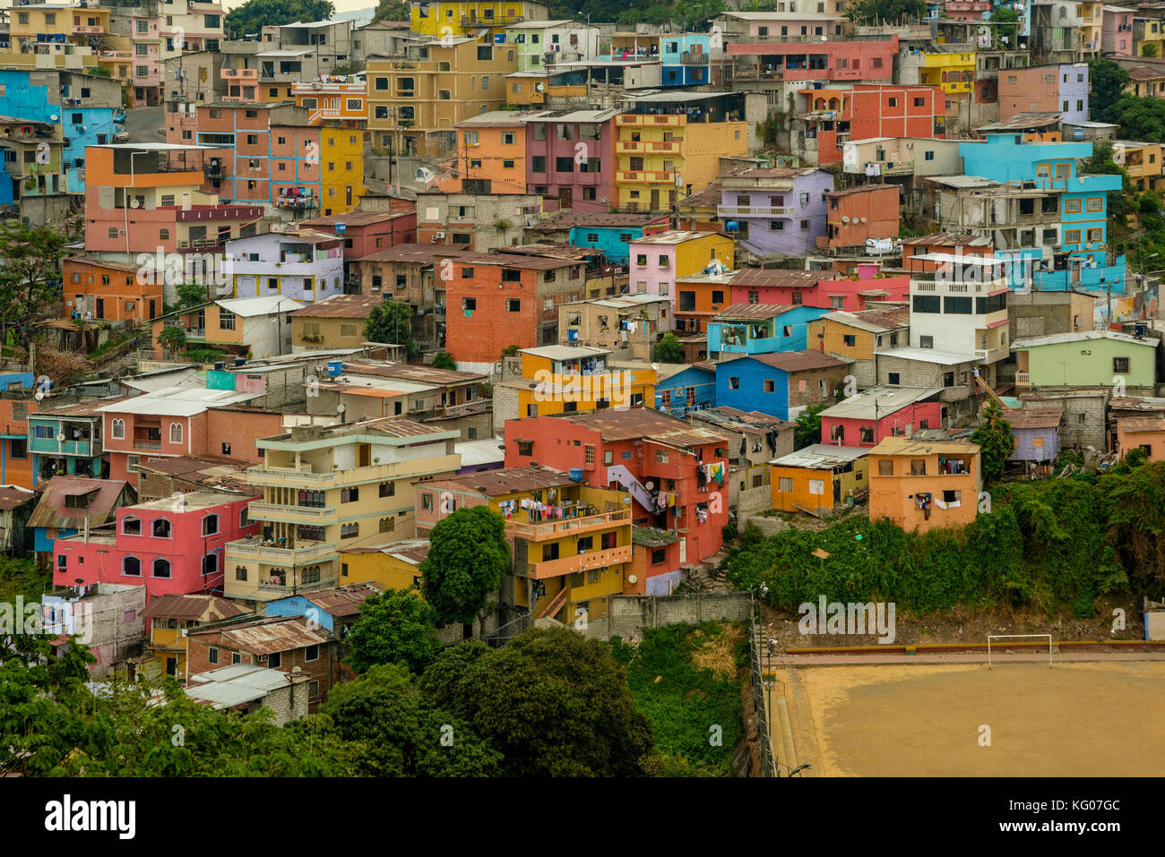 SOUTH AMERICA ECUADOR GUAYAQUILL  Province of Guayas The Pearl of the Pacific - Stock Image