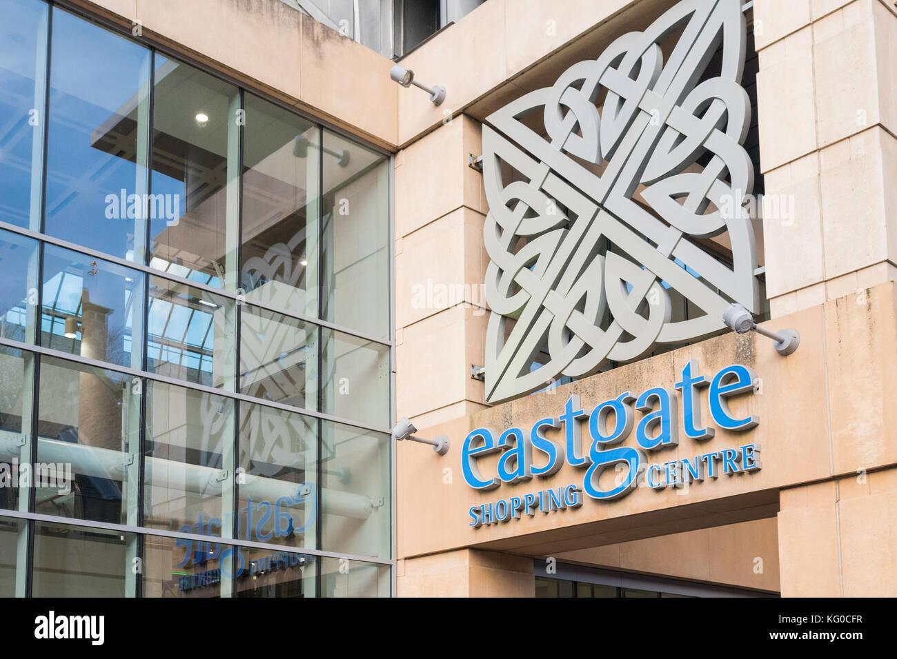 Eastgate Shopping Centre, Inverness, Scotland, UK - Stock Image
