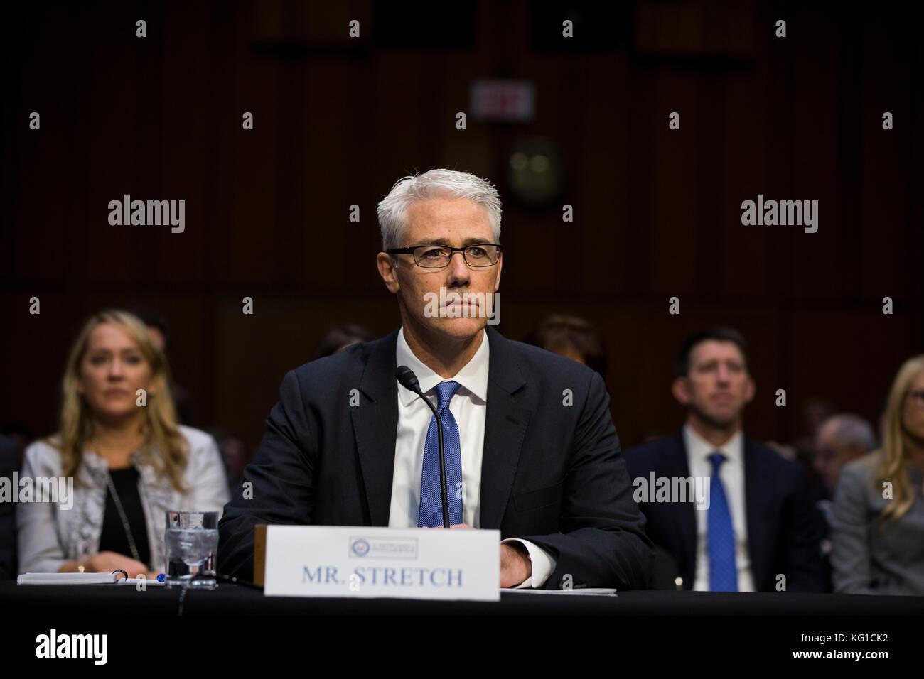 Washington, USA  01st Nov, 2017  Facebook General Counsel Colin