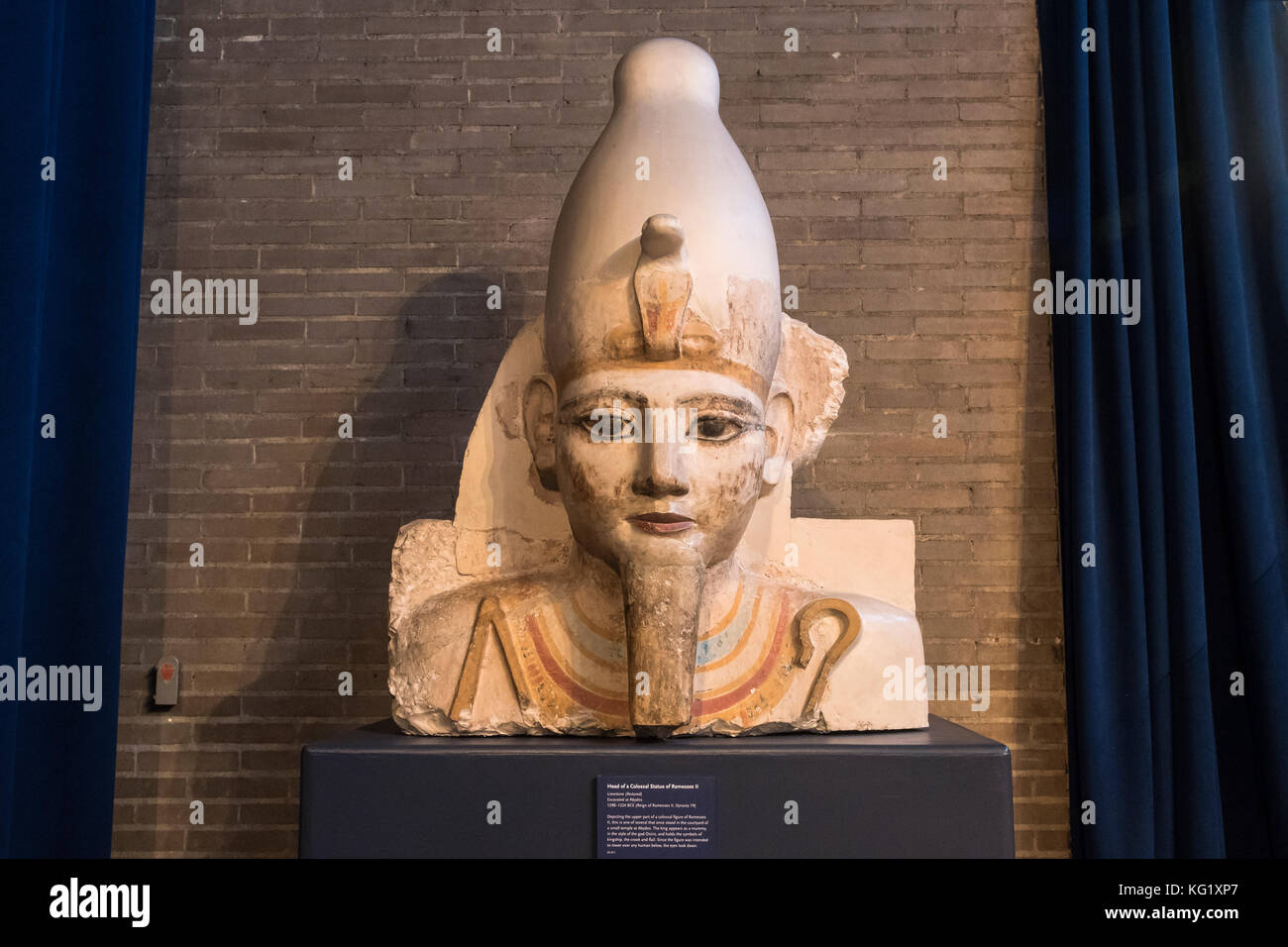 an analysis of the statue of ramesses ii in the university of pennsylvania museum of archaeology and Ramses ii was the pharaoh who would have one of the longest  the egyptian  archaeological and textual sources, however, are mute on this.