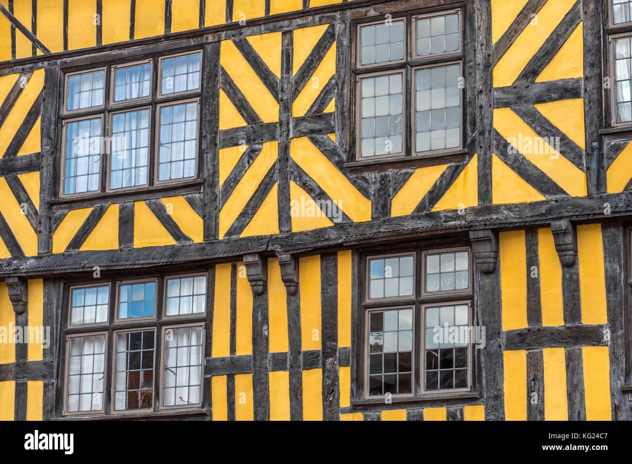 Ludlow Shropshire England Stock Photo