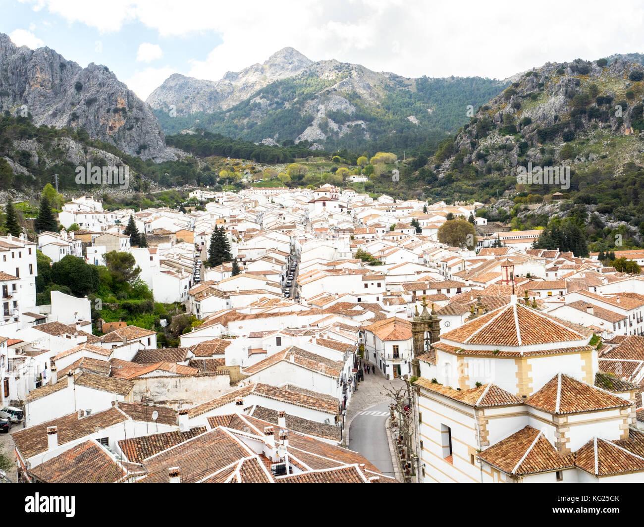 Grazalema, Andalucia, Spain, Europe - Stock Image