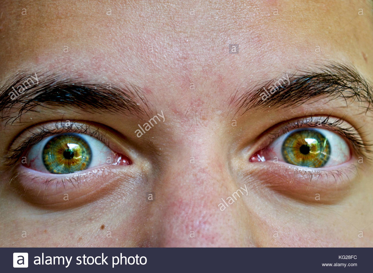 Mr. Twisted Eyeballs. - Stock Image