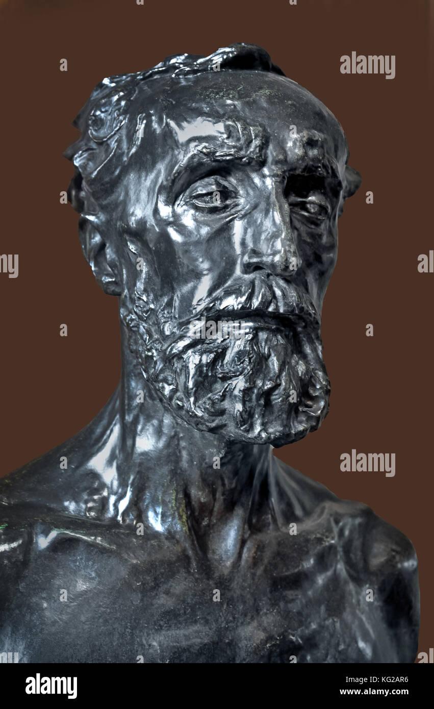Jules Dalou 1883 François Auguste René Rodin 1840 –1917 ( known as Auguste Rodin ) was a French sculptor, - Stock Image