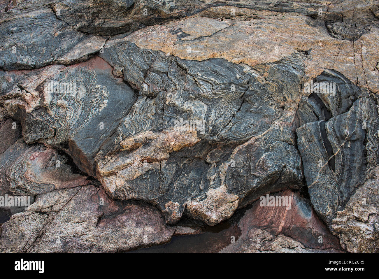 banded gneiss stock photos amp banded gneiss stock images