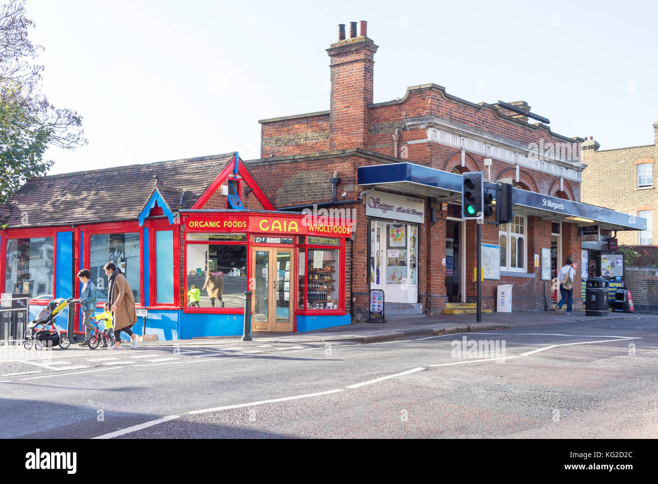 St Margarets Underground Station, The Broadway, St Margarets, London Borough of Richmond upon Thames, Greater London, - Stock Image