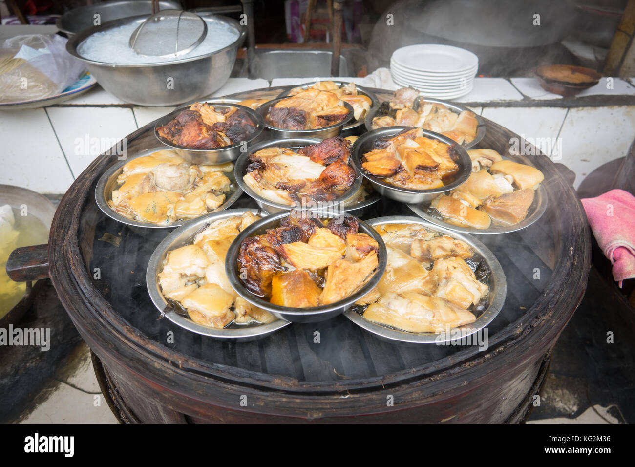 Sichuan street food in chaina Stock Photo