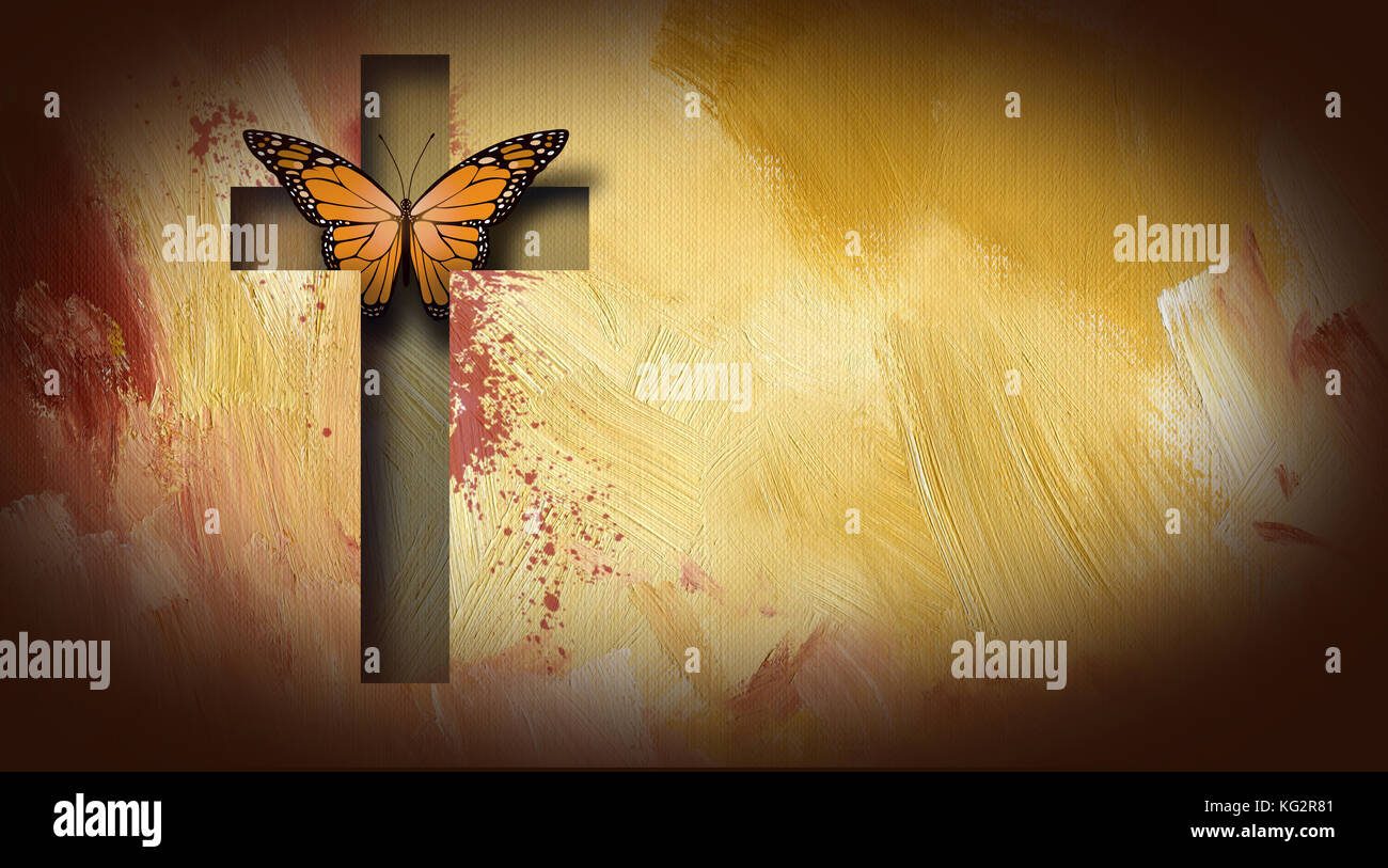 Graphic Design Of The Christian Cross Of Jesus Christ Setting Free A
