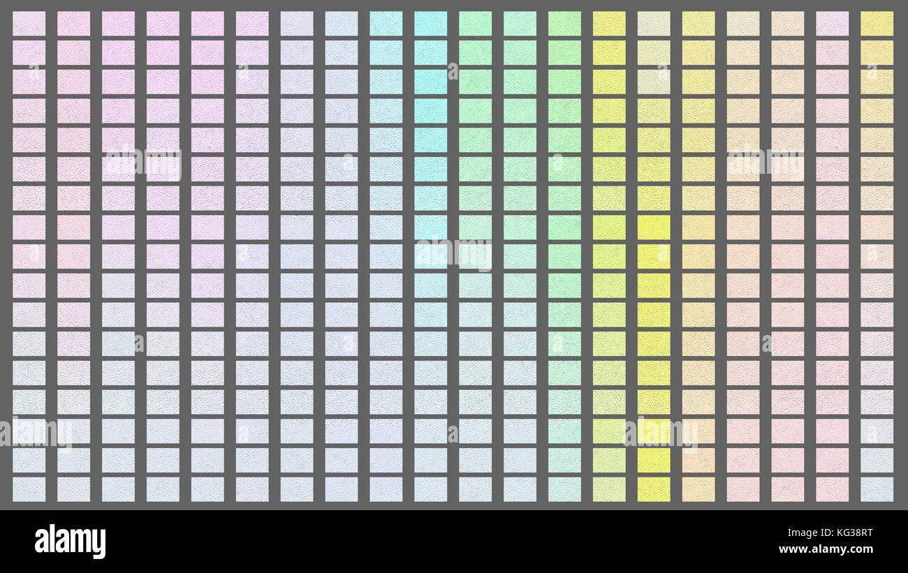 Color palette. Palette of colors. Gray background color shade chart. - Stock Image